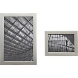 stainless steel magnetic picture frames