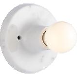 marble flush mount lamp