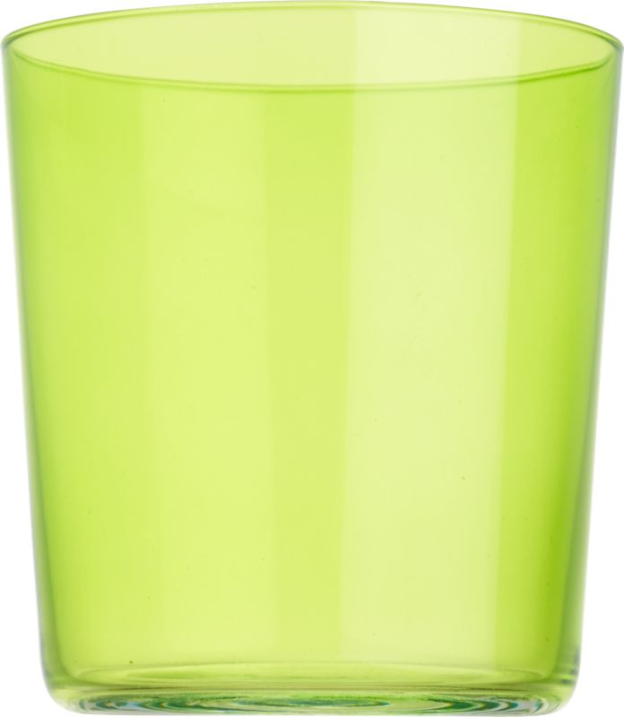 "<span class=""copyHeader"">color pop.</span> Our popular Marta glass makes a splash in bold, brilliant green. Stylish, micro-thin and tinted with a translucent pop of color, it's a bright way to rock anything on the rocks.<br /><br /><NEWTAG/><ul><li>Green-tinted glass</li><li>Dishwasher-safe</li></ul>"