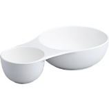 martina double serving bowl