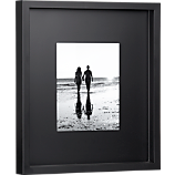 black matte 8x10 picture frame