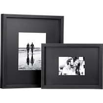 black matte frames