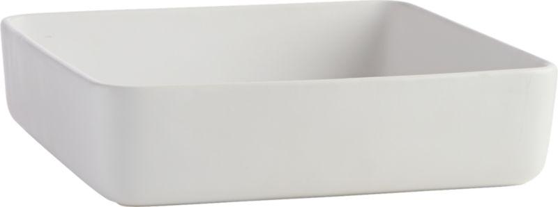 matte white large server-baker