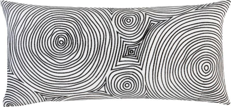"""maze 23""""x11"""" pillow"""
