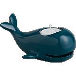 mel blue candle holder