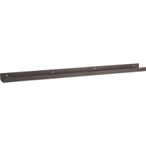 metal gunmetal wall shelf