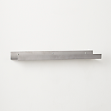 metal aluminum wall shelf 24""