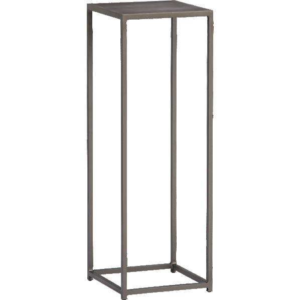 mill tall pedestal table  CB2