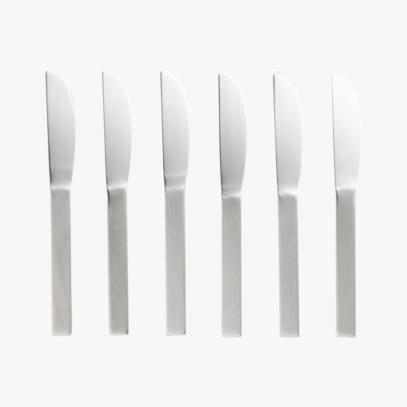 mini cocktail spreaders set of six