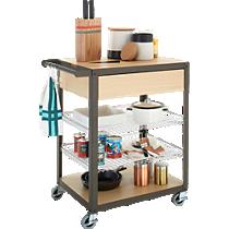 mise en place kitchen cart