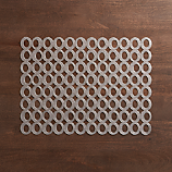 Chilewich ® mod gunmetal placemat