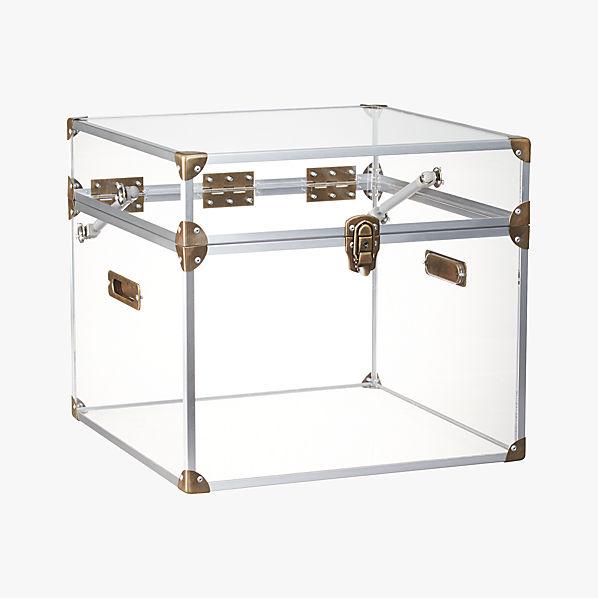 Peekaboo Clear Coffee Table: Mod Locker