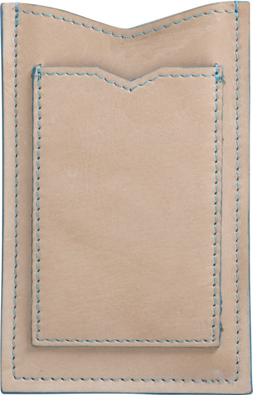 natural leather phone case