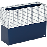 Poppin ® navy hanging file box