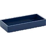 Poppin ® navy tray