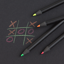 neon pencils set of four