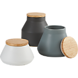 3-piece neutral canister set