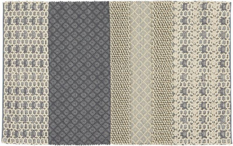 neutral texturas rug 5'x8'