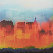 new york hues print