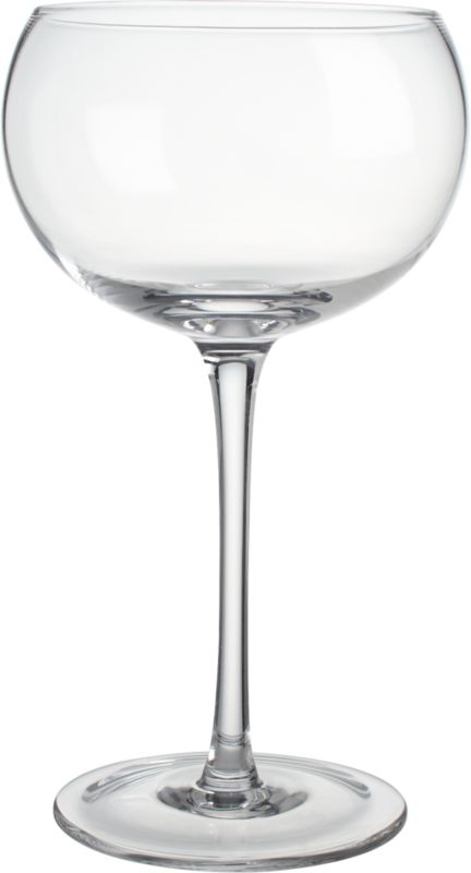 noche clear wine glass