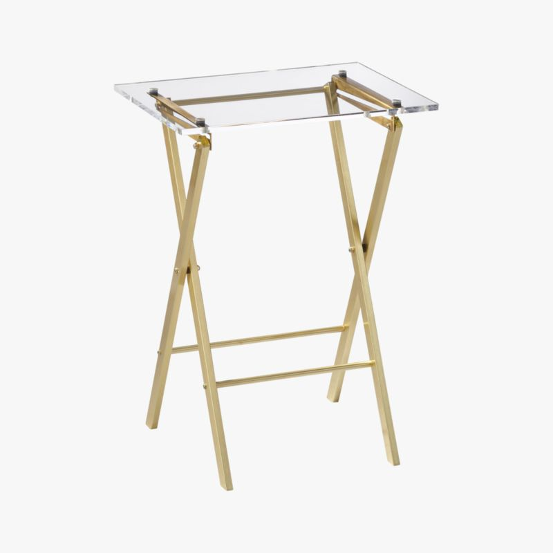 novo acrylic folding table