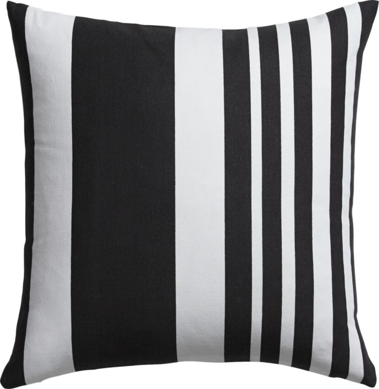 "offbeat stripe 18"" pillow"