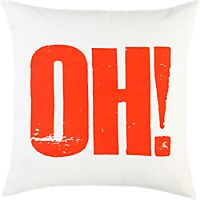 "oh 23"" pillow"
