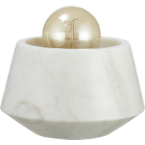 ohm marble table lamp