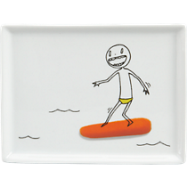 oliver carrot surfboard appetizer plate