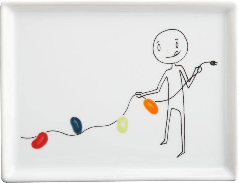 oliver jelly bean lights appetizer plate