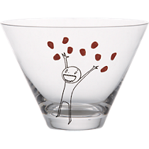oliver pomegranate martini glass
