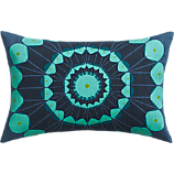 "optic 18""x12"" pillow"