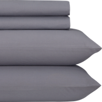 organic grey percale sheet sets