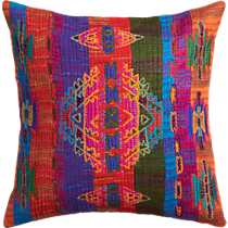 "ouvrage embroidered 23"" pillow"