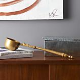 palisa brass decorative ladle