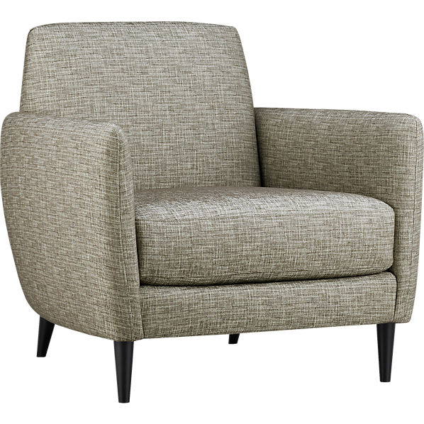 ParlourChairTweed3QS13