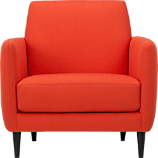 parlour atomic orange chair