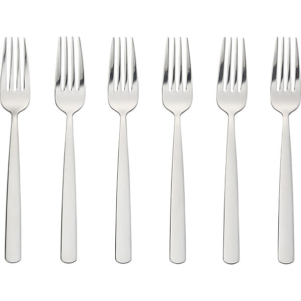 Party Forks Set Of Six CB2