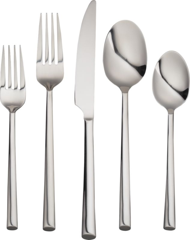20-piece pattern 714 flatware set