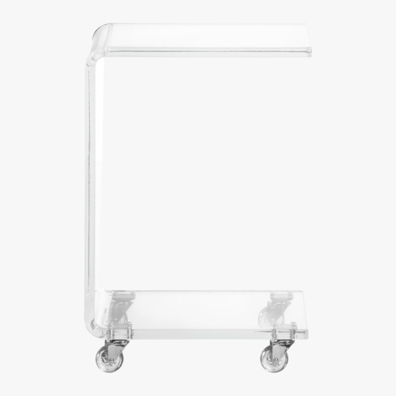 peekaboo clear c table