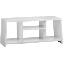 pezzo white storage unit-bench