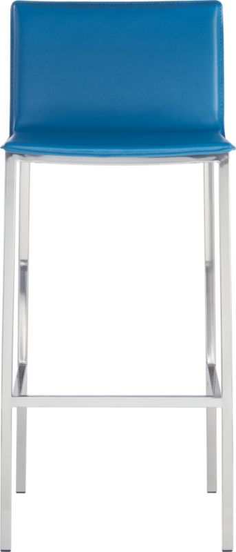 "phoenix swoon blue 30"" barstool"