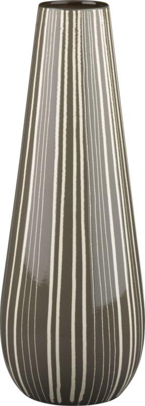 pinstripe vase