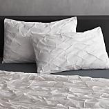 set of 2 white melyssa standard shams