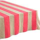 pipeline pink tablecloth