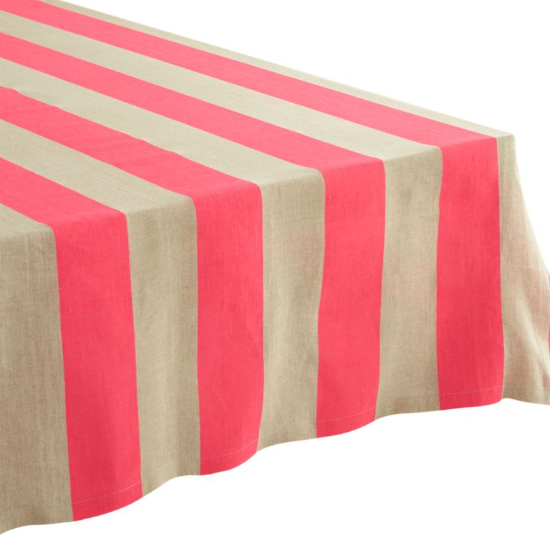 "pipeline pink tablecloth 60""x120"""