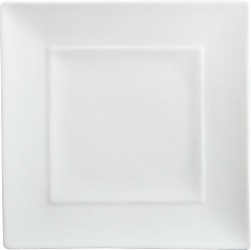 platform salad plate