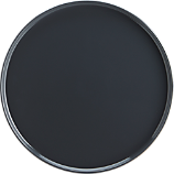 plinth grey dinner plate