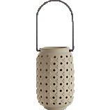 plus raw ceramic lantern
