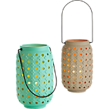 plus ceramic lanterns